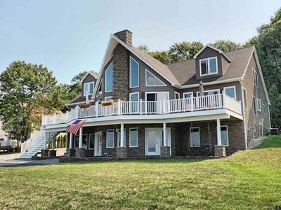 Photo for Huge New Saratoga Lake Home, 20 Guests & 7 Bedrooms
