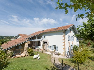 Photo for Gîte of charm and exception, swimming pool and jacuzzi, near Saint Jean de luz