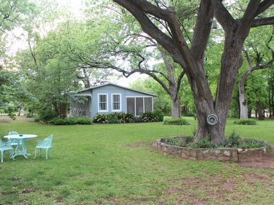 Photo for Historic Bunk House Walking Distance to Lake LBJ in the Texas Hill Country