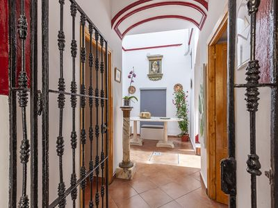 Photo for HOUSE OF LIGHT apt 3 -Elegant Old Town 2PX wifi tv ac