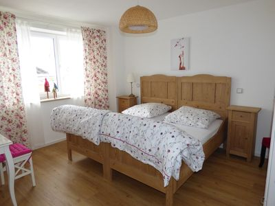 Photo for Rest and relaxation in the countryside in nostalgically decorated bedrooms