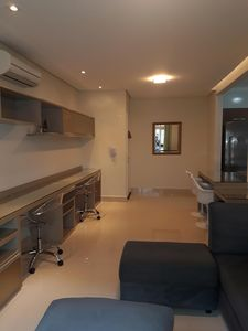 Photo for Beautiful 2 bedroom apartment with 1 suite in Canto do Forte