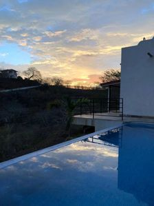 Photo for This beautiful villa with an amazing view is located high in the hill of Ocotal