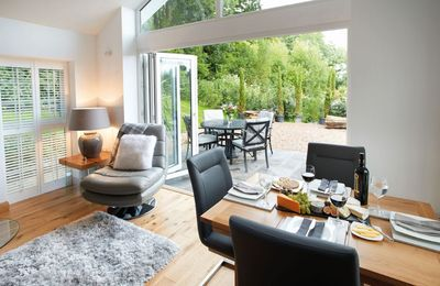 Photo for Nos Da is a contemporary cottage sleeping four offering the ideal tranquil escape in South Wales.