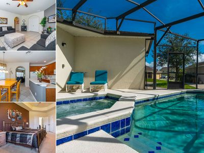 Photo for Pool Home with Spa on Gated Resort Community Close to WDW