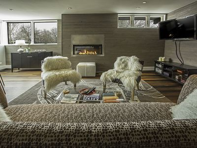 Photo for Classic Contemporary Two Bedroom Penthouse Two Blocks from the Aspen Gondola