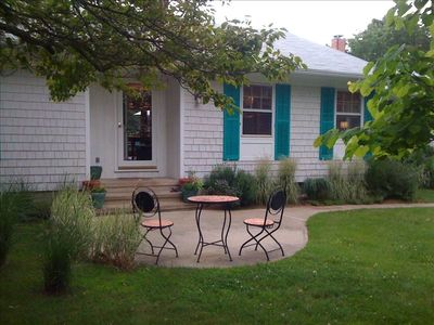 Photo for Comfortable 3 Bedroom Retreat with Private Yard and Heated Pool.