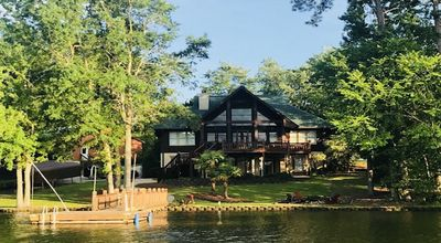 """Photo for """"Southern Comfort"""" is truly a vacation home with optional Pontoon available"""