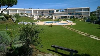 Photo for Luxury Apartment in Quiet, Exclusive Complex with 2 Pools and Tennis Court