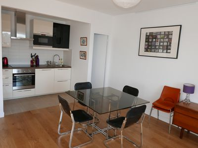 Photo for Apartment 65 M2 renovated, 2 steps from the beach and thalassotherapy