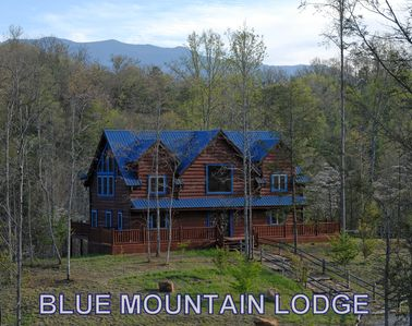Photo for Blue Mountain Lodge: Private~Yard~Firepit~Game room~Free WIFI~hot tub~grill+more