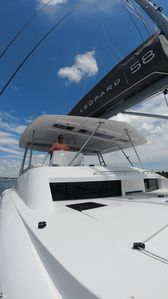 Photo for Luxury Catamaran with Four Bedrooms, Fwd and Aft Deck, Private Patio, Swim Lift.