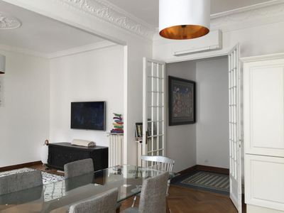 Photo for Beautiful 4 rooms apartment air-conditioned and completely renovated