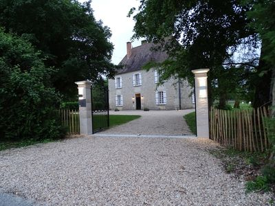 Photo for A Charming, Spacious Country-house near Aubeterre-sur-dronne on the Charente/Dor