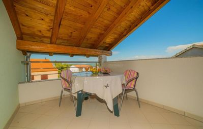 Photo for One bedroom apartment with terrace Pakoštane (Biograd)