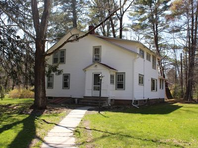Photo for Charming and spacious Woodstock farmhouse walking distance to town