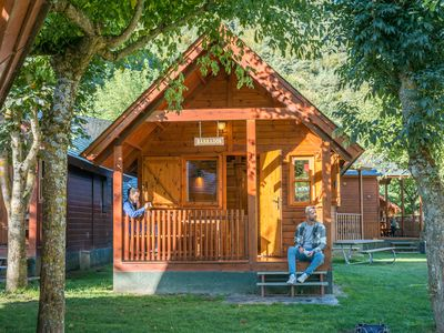 Photo for Cabin or bungalow Camping Verneda for 4 people