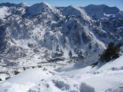 The Cliff Club is located right at the base of Snowbird Mountain