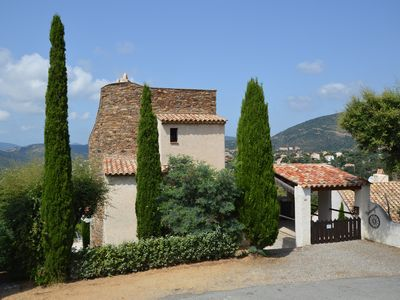 Photo for Charming villa with pool and panoramic sea views in the Gulf of St. Tropez
