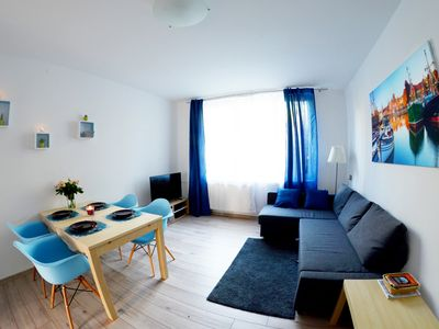 Photo for Gdansk City center - Peaceful and comfortable apartment, surrounded by nature