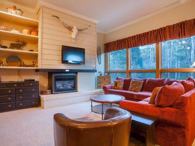 Photo for Updated Serene Creekside Condo - Across from the Resort's Activities & Trails