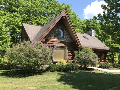 Photo for Charlevoix's beautiful log home