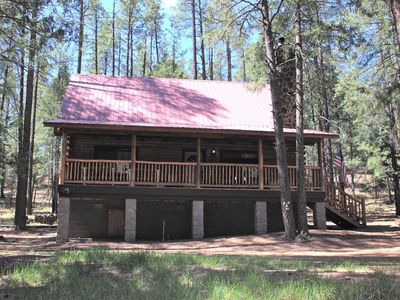 Photo for 1BR Cabin Vacation Rental in Alpine, Arizona