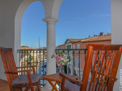 Photo for Close to the center 3 bedrooms flat Port Grimaud
