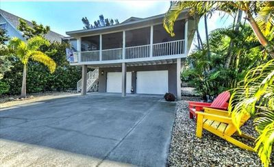 Photo for BOOK YOUR 2020 STAY NOW!! ADORABLE ELEVATED PRIVATE HOME WITH NEWLY BUILT POOL AND A SHORT WALK TO THE BEACH LOCATED IN ANNA MARIA! GREAT RATES!