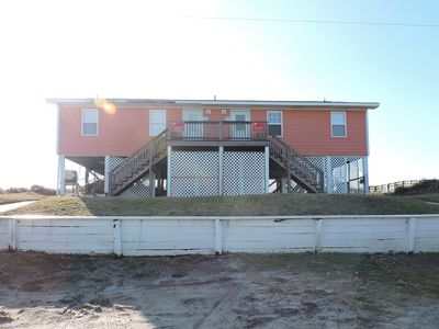 Photo for Dog-friendly and oceanfront!