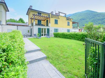 Photo for Holiday Home in Porlezza with Swimming Pool, Garden, Terrace