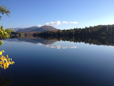 From the dock w/ views of Whiteface