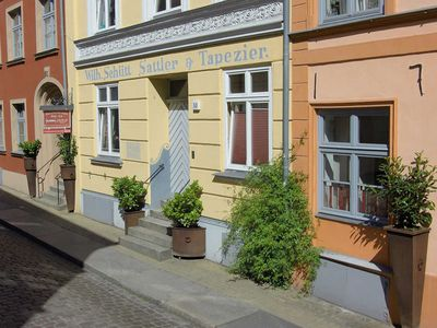 Photo for Smallest holiday home in Stralsund with garden view - Gohr holiday apartments