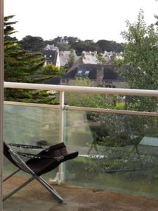 Photo for Carnac-Plage: appart. 1-7pers. any comfort + balcony, seen park and Port