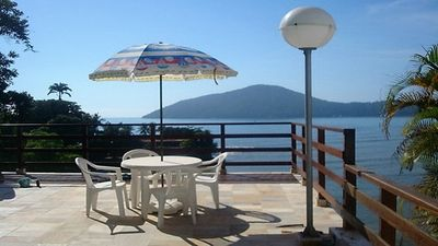 Photo for Matarazzo Beach - In front of the beach with beautiful view