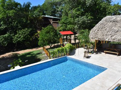 Set in jungle, Wild Orchid is a self catering 2 bedroom cabin with private porch