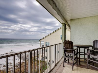 Photo for Stylish gulf front condo w/ shared pools, keyless entry, and free WiFi & cable!