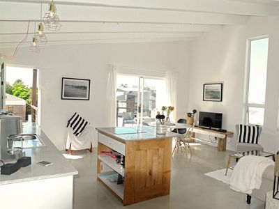Photo for Designer holiday apartment in private villa, 2 minutes walk to the white beache