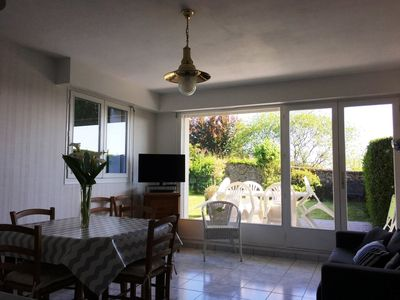 Photo for Cancale apartment for 4 people with garden 200 meters from the port.