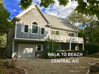 Photo for Lovely 5 bedroom 3.5 Bath Home W Central AC Walk to Beach, Restaurants & Harbor