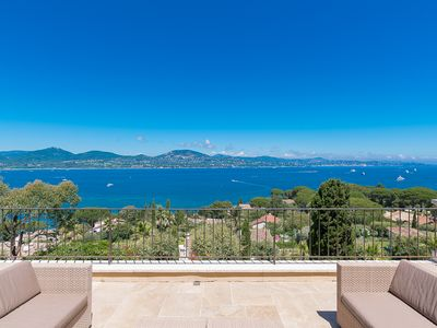 Photo for Villa full sea view on Saint-Tropez / Full sea view to Saint-Tropez