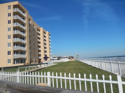 Photo for Walk just steps to the beach from 2 BD/2 BA Oceanfront Condo in New Smyrna Beach