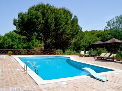 Photo for Spacious villa with pool and gardens, close to Sesimbra 40 Km South of Lisbon