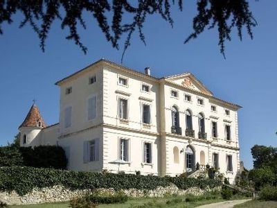 Photo for Magnificent genuine castle with pool in the Agen region, Perigord
