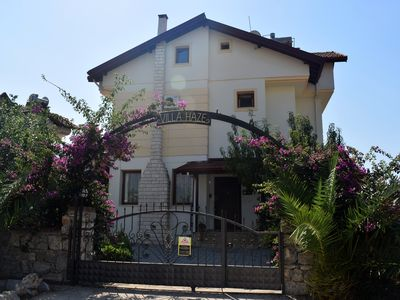 Photo for 4 bed Villa With Private Pool And Mountain Views. 5 minutes walk to Hisaronu