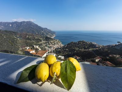 Photo for Breathtaking view apartment in Ravello