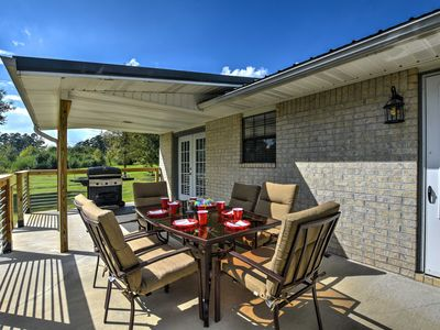 Photo for NEW! Kirby Home w/Patio Just North of Lake Greeson