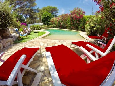 Photo for Luxury villa with sea view Private domain of giens