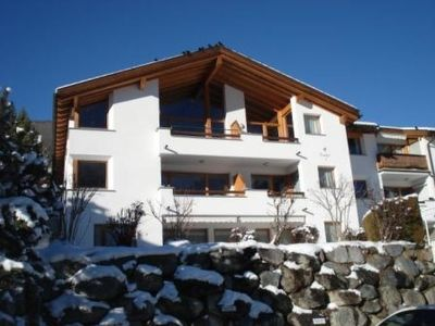 Photo for Scuol Apartment, Sleeps 6 with WiFi