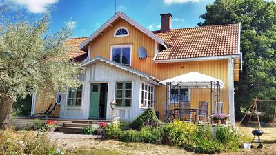 Schwedenstuga in the heart of Smaland surrounded by meadows, forests and lakes